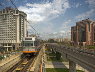 Horas de funcionamiento de la salida del metro de Estambul a la calle April