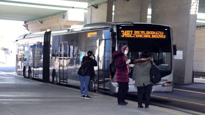 Arrangement of closing of public transport in istanbul iett metro and metrobus working hours
