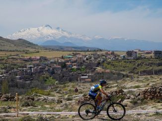 The excitement of international mountain bike races in Kayseri