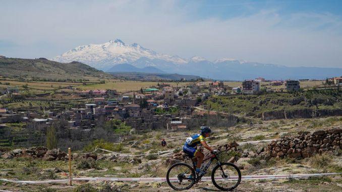 The excitement of international mountain bike races in Kayseri
