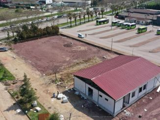 Kocaeli børn trafikuddannelse park bygningskonstruktion afsluttet