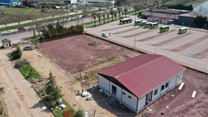 Kocaeli children traffic education park building construction completed