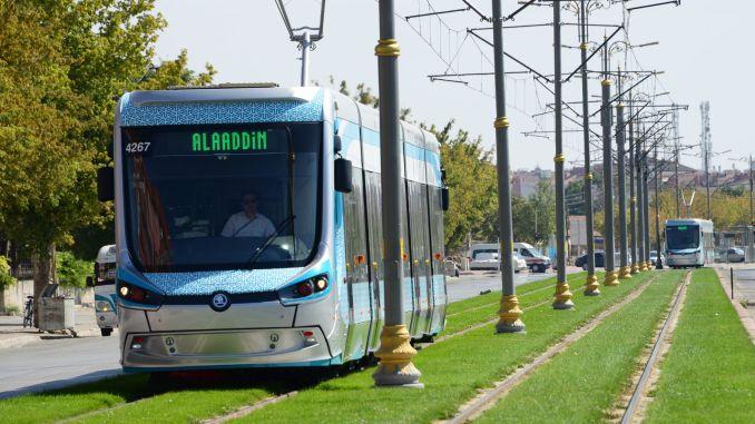 Eine weitere Auszeichnung im öffentlichen Verkehr von Konya Büyüksehire
