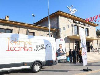 Mersin train service has begun, Ekmek Corba vehicle has taken its usual place
