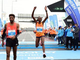 n easy istanbul half marathon witnessed a new world record
