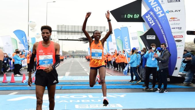 n easy istanbul half marathon witnessed a new world record