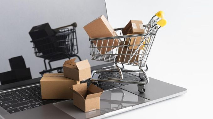 pandemic online shopping increased by percentage