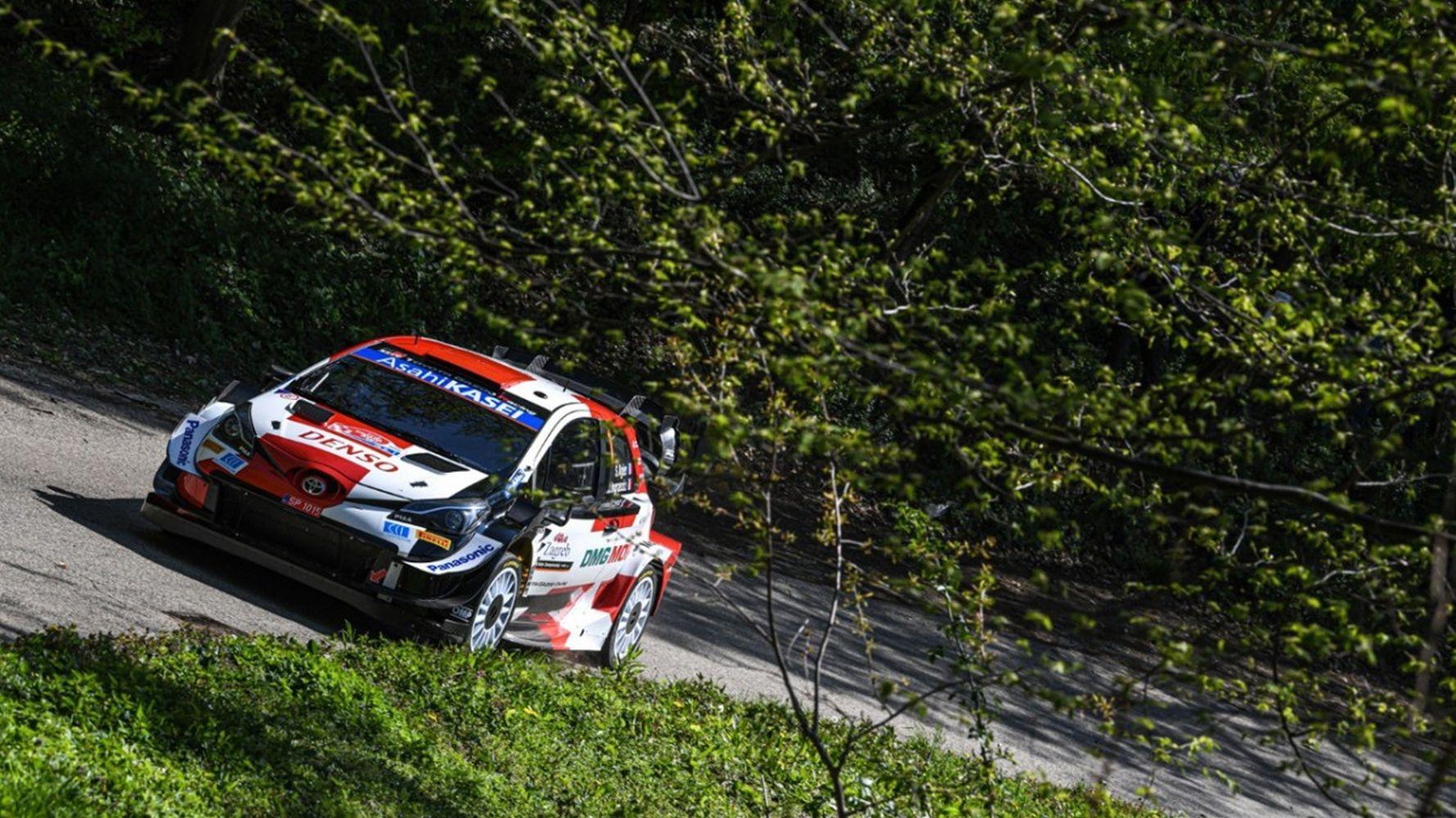Pirelli tires mark croatia rally