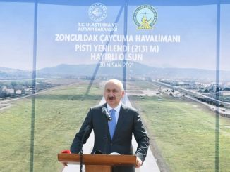 Zonguldak Çaycuma Airport with Renovated Runway Opened