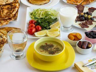 نصائح عن الأكل الصحي في رمضان