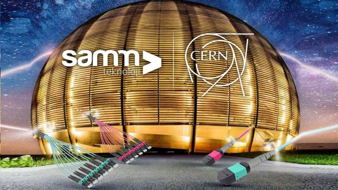 Samm signed a sales contract with cern for technology solutions.