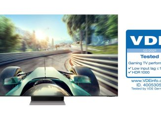 Samsung gaming television performance certified