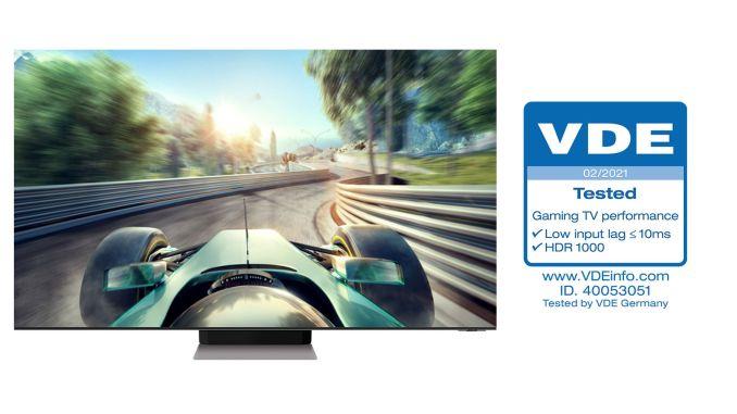 Sertifikovane performanse Samsung gaming televizije