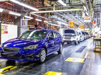 Džipu krīzes dēļ Subaru uz laiku pārtrauca ražošanu