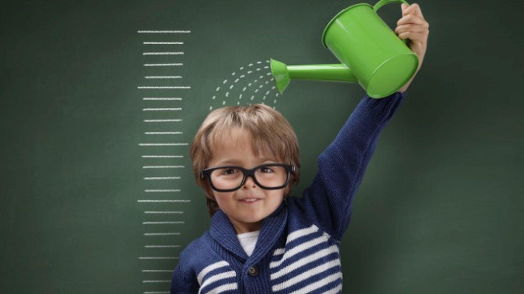 Does drinking milk make the kids taller?