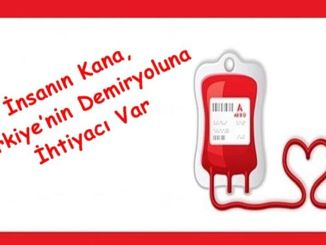 In der heutigen Datum April menschliches Blut turkiyenin Eisenbahn