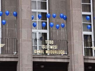 عالمی یوم آٹزم بیداری کے دن ٹی سی ڈی ڈی نے بلیو غبارے کو پھانسی دے دی