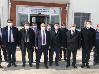 Visit to Afyonkarahisar Region Manager from TCDD Tasimacilik General Manager Hasan Pezuk