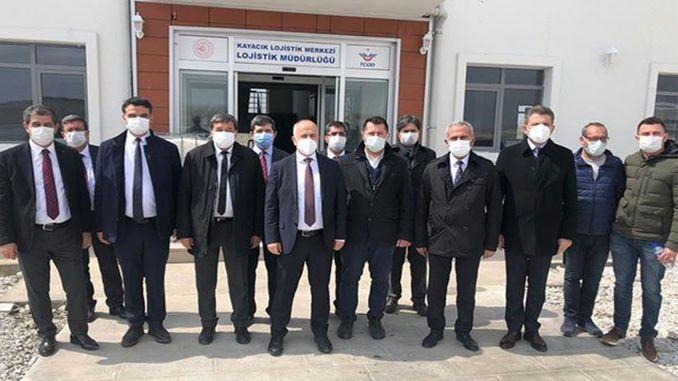 Visit to Afyonkarahisar Region Manager from TCDD Tasimacilik General Manager Hasan Pezuk