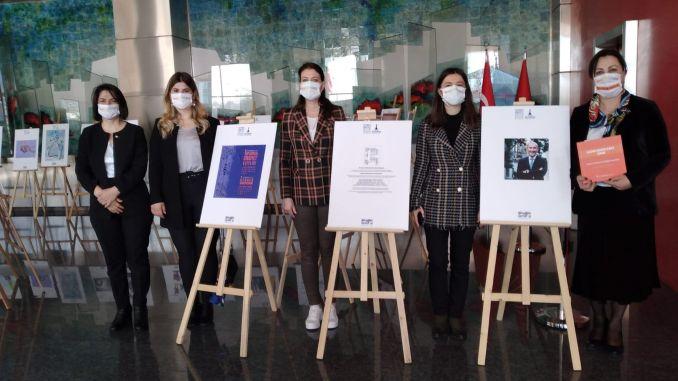 gender equality cartoon exhibition in Ankara