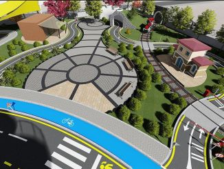 trabzon children's traffic training track will be completed by the end of the year