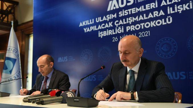 Saradnja između Ministarstva saobraćaja i Univerziteta Bogažići na pametnom prevozu
