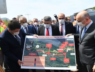 Zonguldak amasra kurucas and Jide road will shorten the travel time by minutes