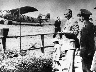 turk air agency turk tayyare samfund blev oprettet