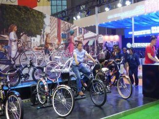 otevřel mezinárodní veletrh jízdních kol za účasti více než tisíce společností