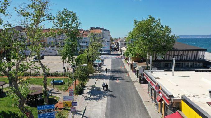 Asphalt Works to Bursa Mudanya Streets