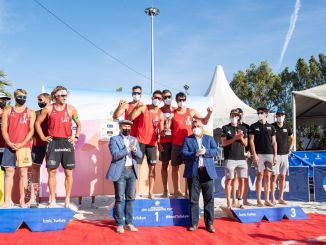 Bajnok Törökország az Izmir Beach CEV Kontinentális Kupa Strandröplabda tornán