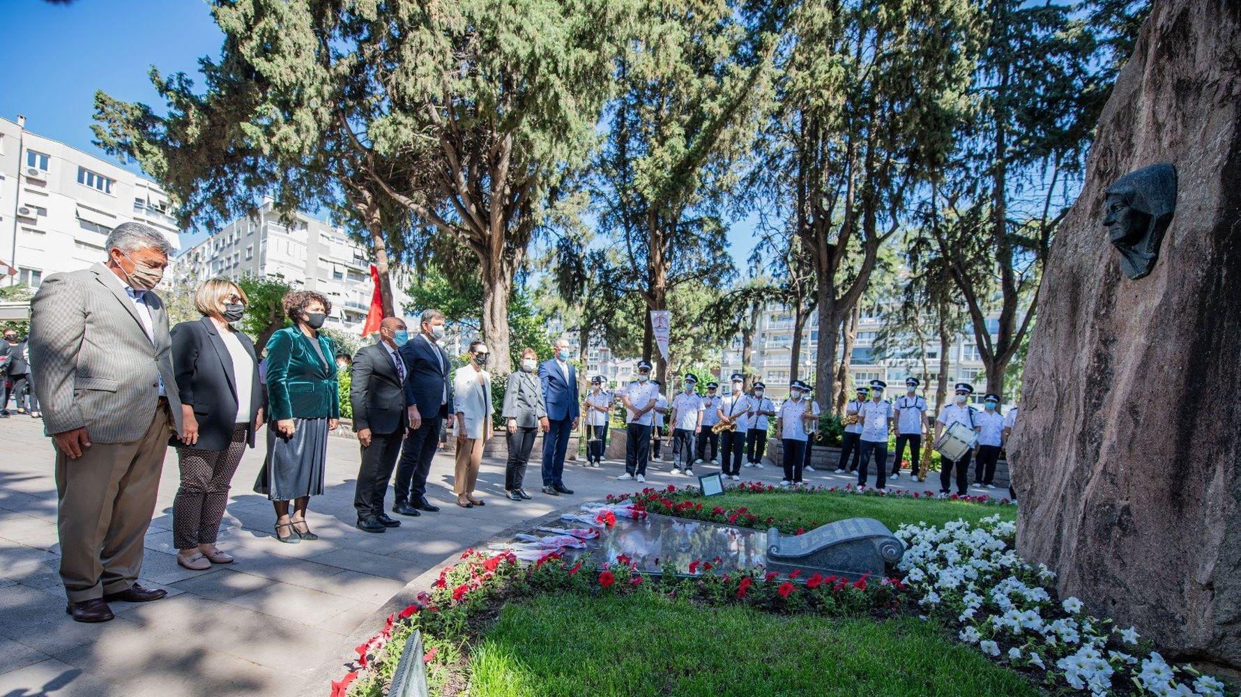 on mothers day, the great onder mustafa kemal ataturkun's mother zubeyde hanim was commemorated