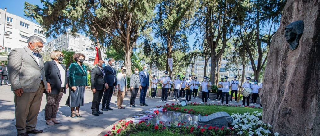 on mothers day, the great onder mustafa kemal ataturkun's mother zubeyde hanim was commemorated