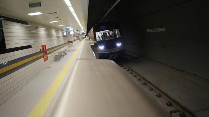 Atakoy olympic metro services will be changed between the olympic ikitelli industry