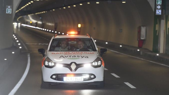 Eurasia tunnel saved drivers hourly time