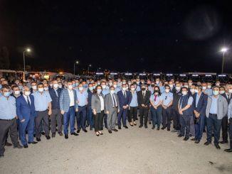 بدأ الرئيس سويير برنامج العيد مع موظفي Eshot