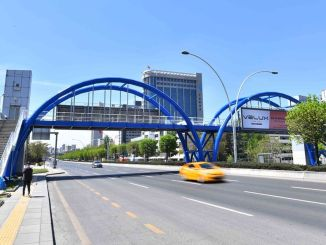 Maintenance of worn pedestrian overpasses in the capital