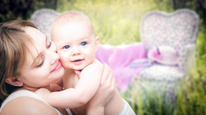 Contact your baby from skin to skin