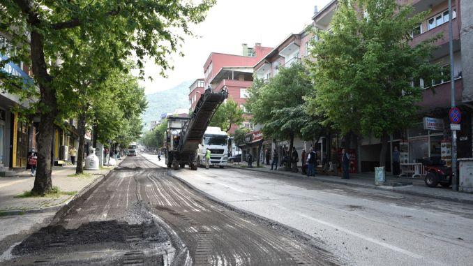 bursa profesor tezok street will have a modern look