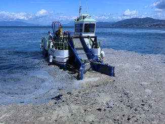 saliva operation on the shores of Bursa