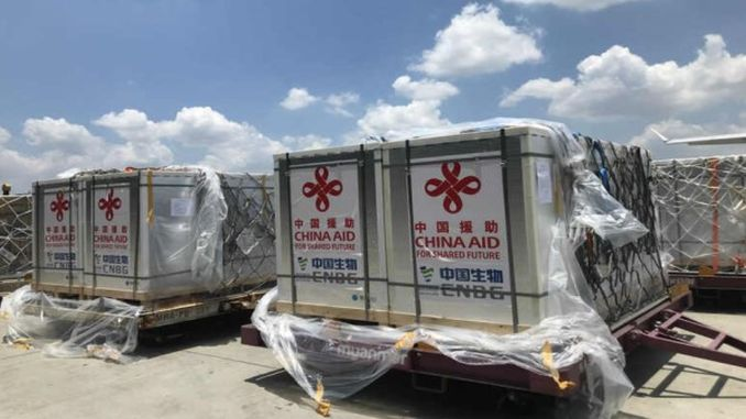 thousand doses of vaccine donated by the government of the jin reached myanmar