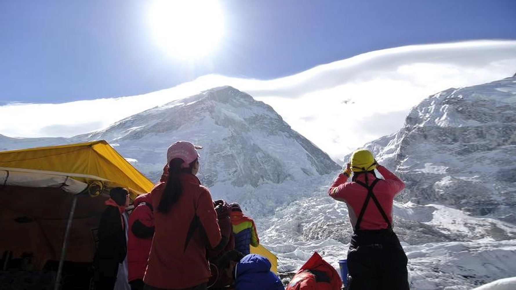 The gin will draw a border line to the top of everest to prevent the entry of covid