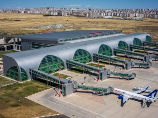 Landasan pacu bandara diyarbakir dilakukan perawatan untuk penerbangan yang aman
