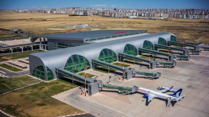 diyarbakir airport runway taken into maintenance for safe flight
