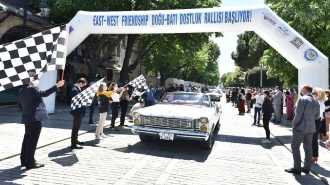 friendship and peace rally starts once the europa orient rally