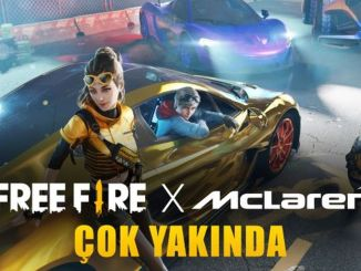 Cooperación de Garena Free Fire y Mclaren Racing