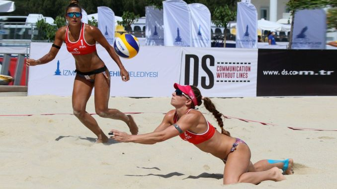 Volleyball excitement continues in Izmir, nationals are on their way to Tokyo