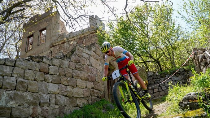Kayseri international mountain bike races meet history with bicycles