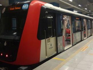 Changements d'horaire du métro de Cherry Olimpiyat Basaksehir