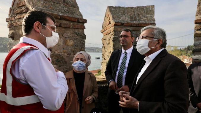 Restoration work started in Rumeli and Anatolian Fortress